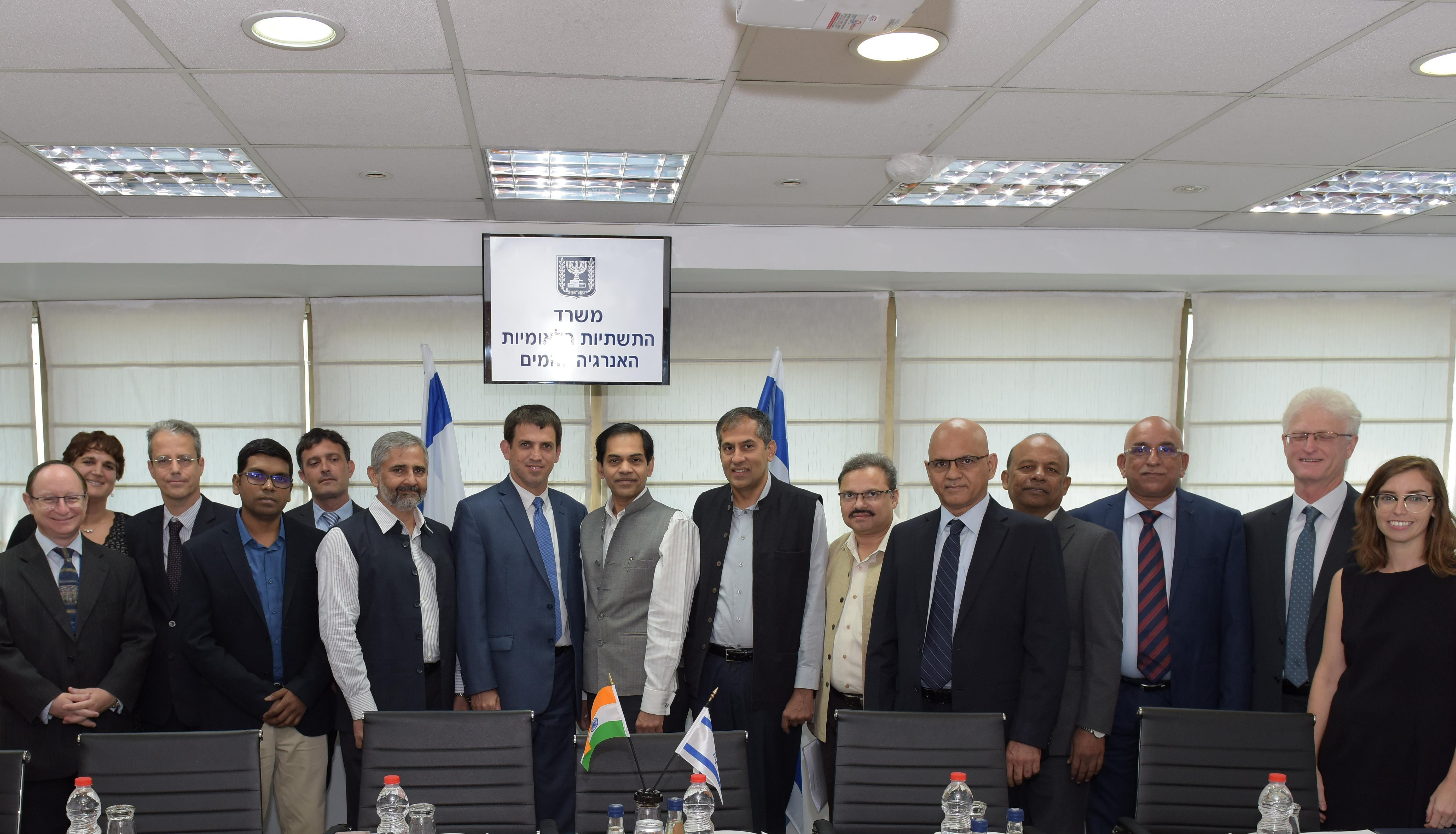 The economic cooperation between Israel and India extends to the energy sector
